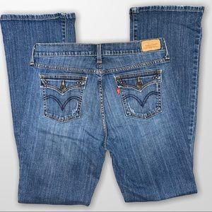 Levi's 515 Bootcut Jeans 10 Long